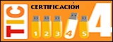 Logo Certificación TIC nivel 4
