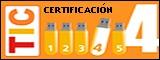 Logo Certificación TIC nivel 4